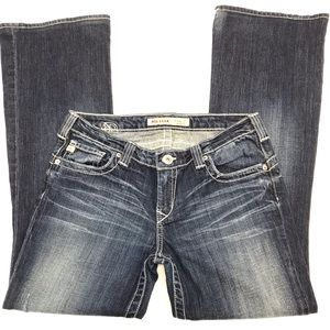 Big Star - Casey K - Low Rise Boot Cut Jeans - 28R